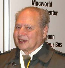 Portrait of Apple Computer Founding member, Ronald Wayne