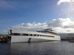 Photo of Steve Jobs Yacht Venus